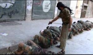 Muslims slaughtering Muslims