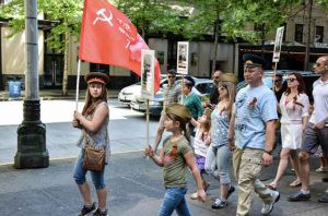 RUSSIAN MILITARISM IN YOUR CITY OR FOLLOW THE WHITE RABBIT Part 1