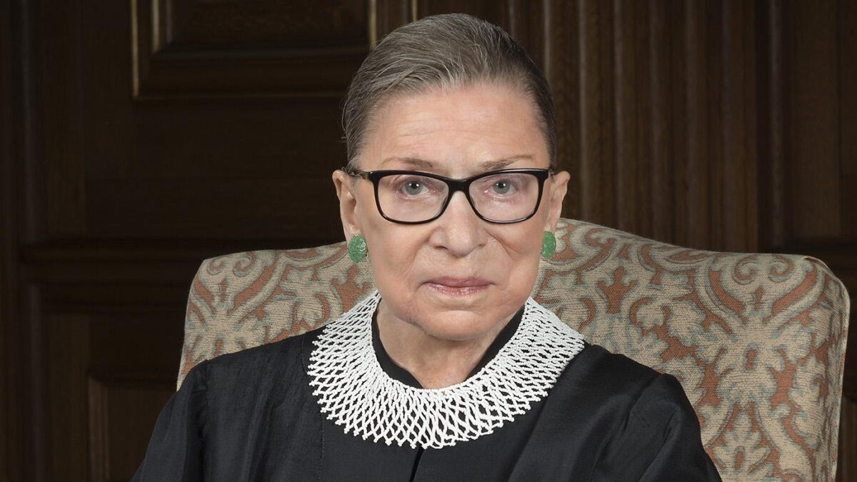 Justice Ruth Bader Ginsburg (1933-2020). May her Memory be a Blessing