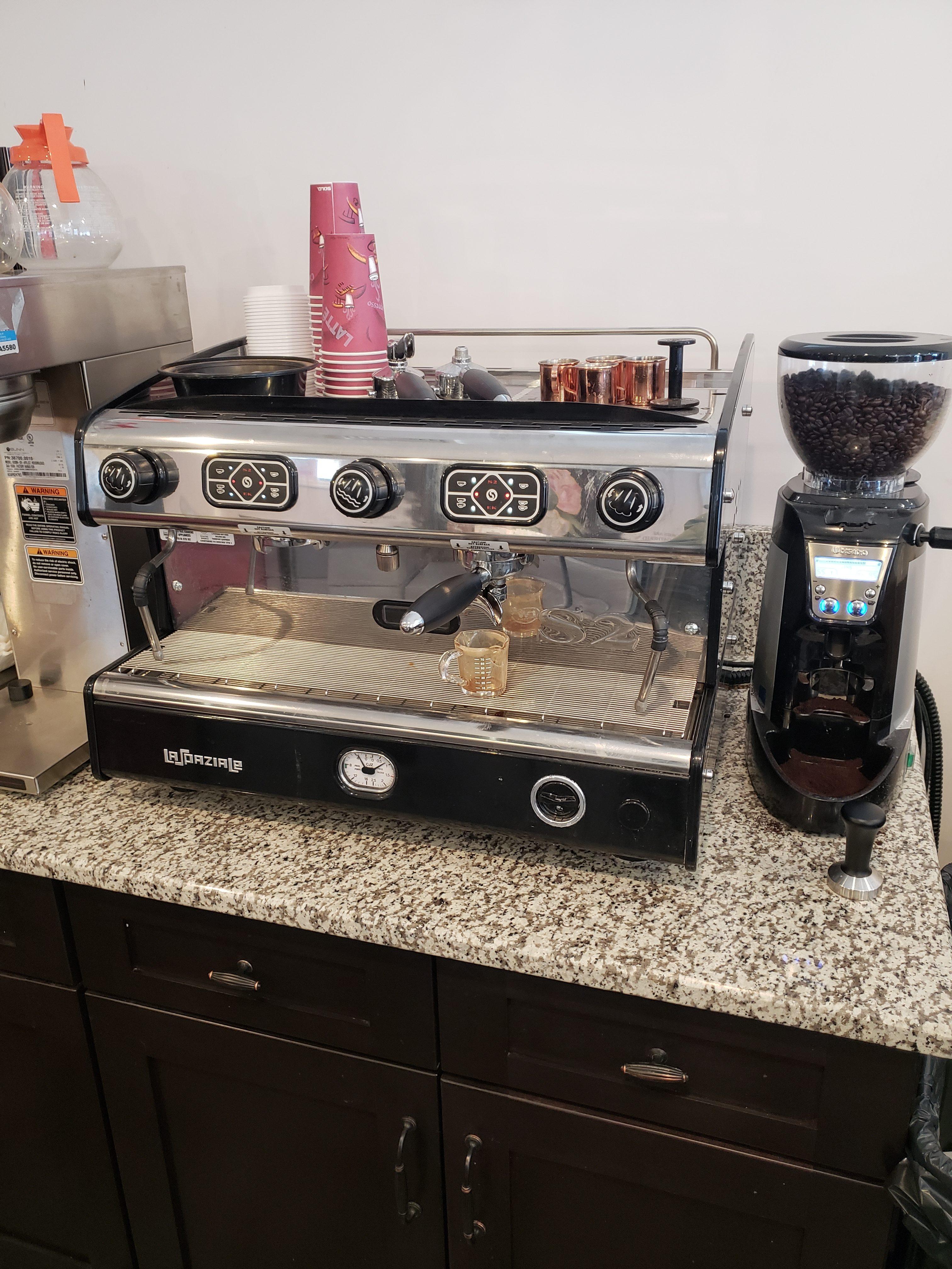 Shannon's espresso machine
