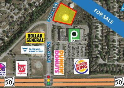 Commercial Out-Parcel Available: Eagle Ridge Shoppes, SR-50 Groveland, FL 34736