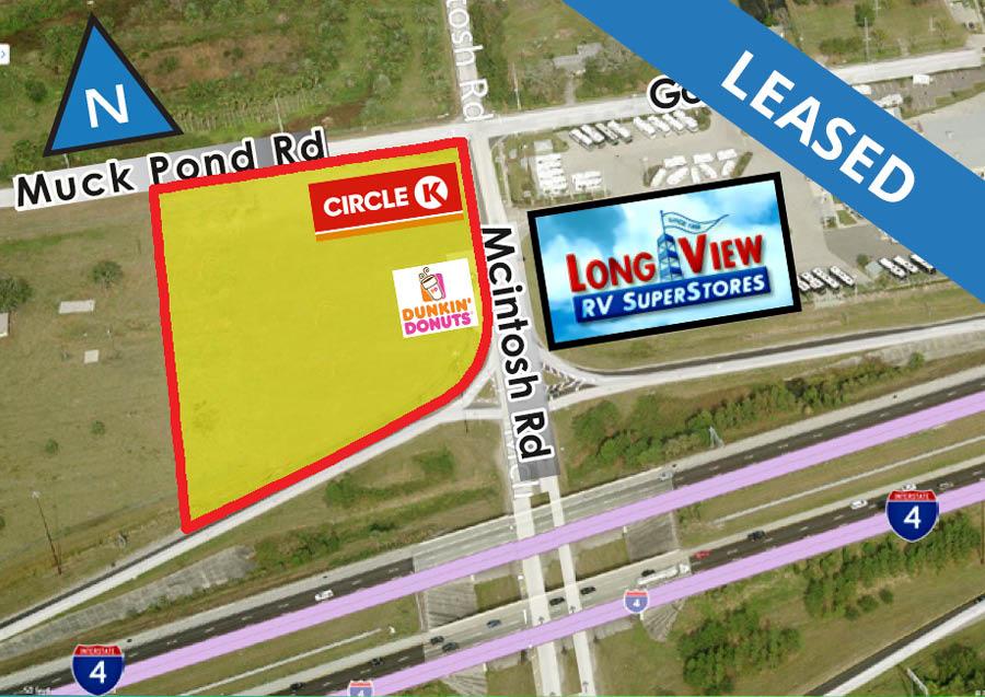 Retail Site: 4810 McIntosh Rd. & I-4, Dover, FL 33527