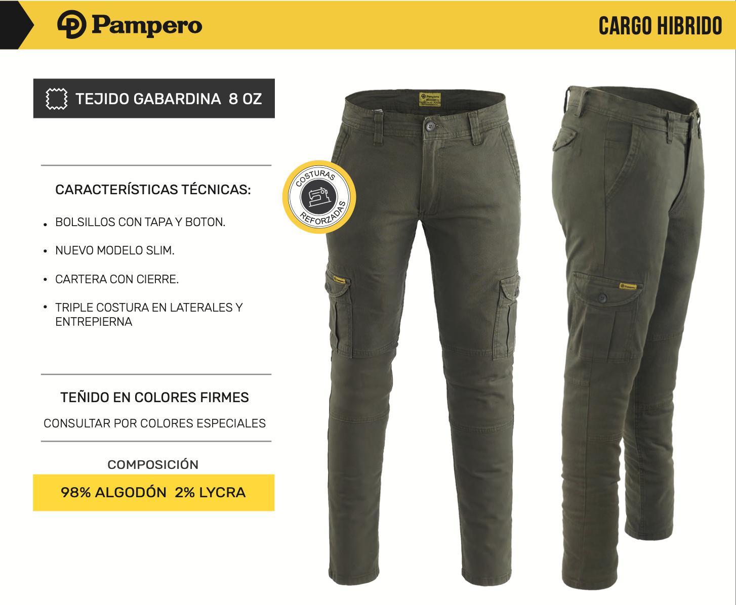 Pantalón Cargo PAMPEROElastizado