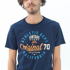 Remera Bravo Original Azul