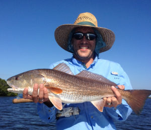 Redfish on light tackle