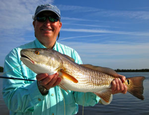 All smiles with a beautiful redfish