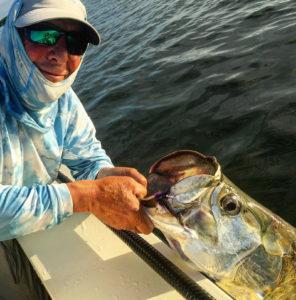 Tarpon caught on the fly in Boca Grande, FL