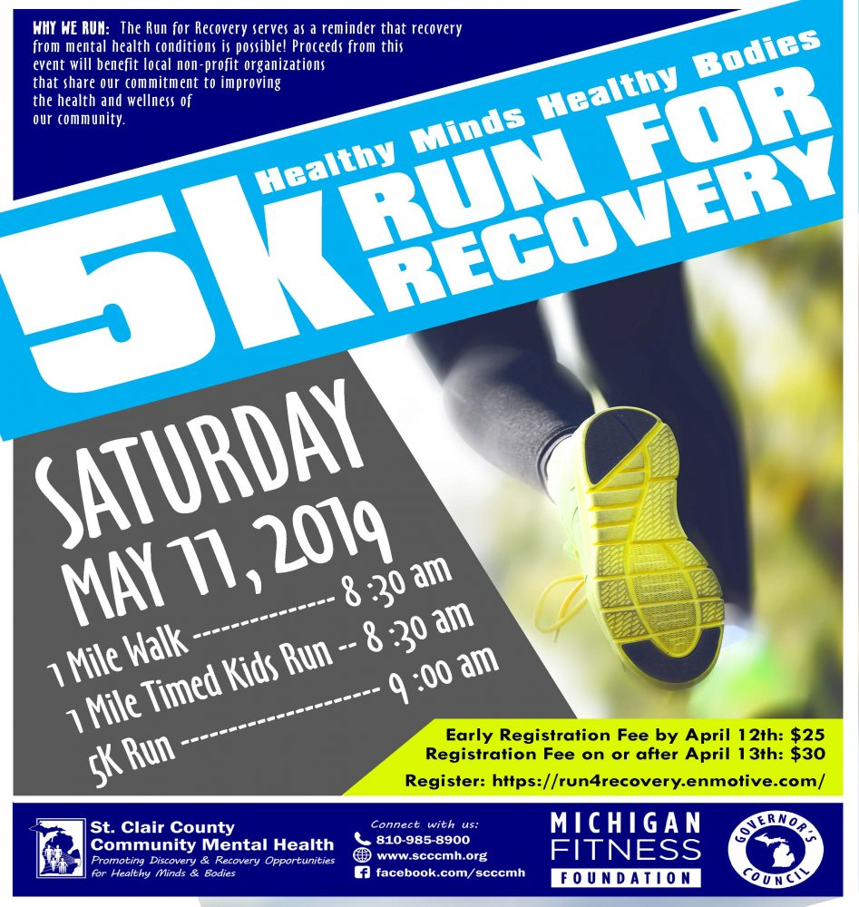 Run for Recovery Flyer