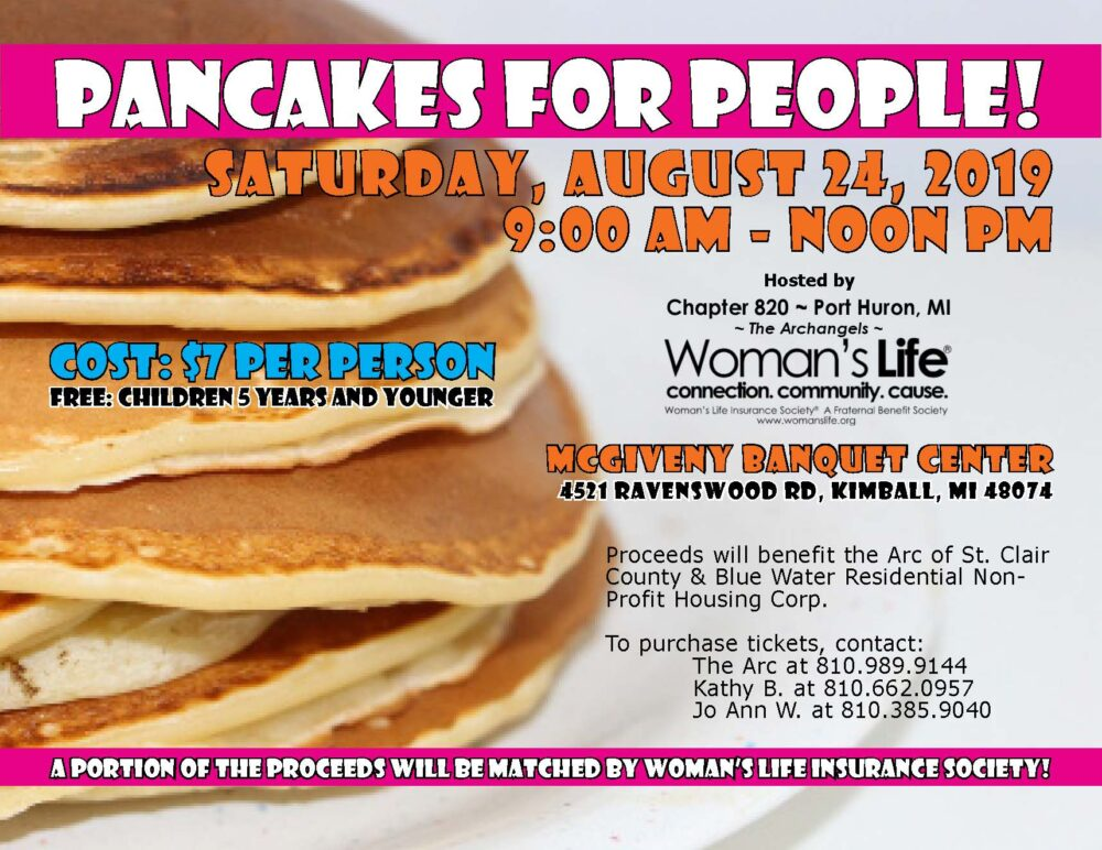 Pancakes for People Flyer