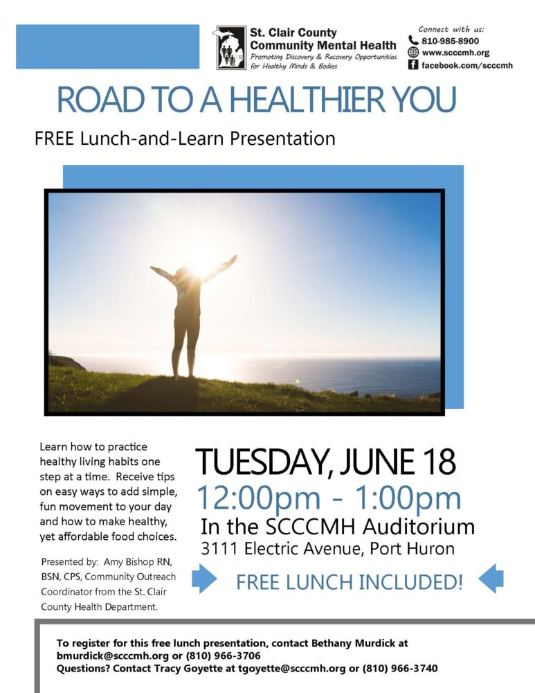Road to a Healthier You Flyer