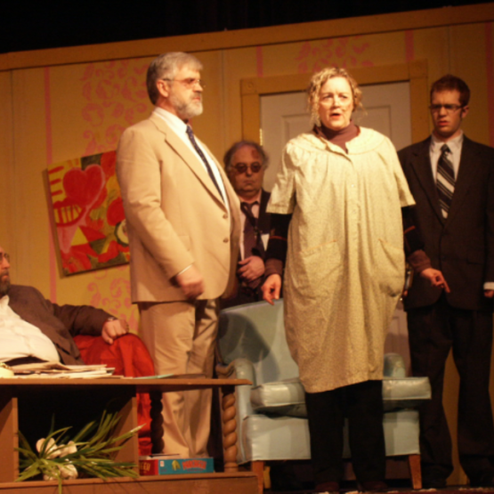 Picture of the play Curious Savage