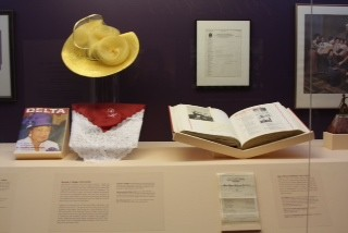 Dr. Height Hat and Scarf featured in Museum Exhibition