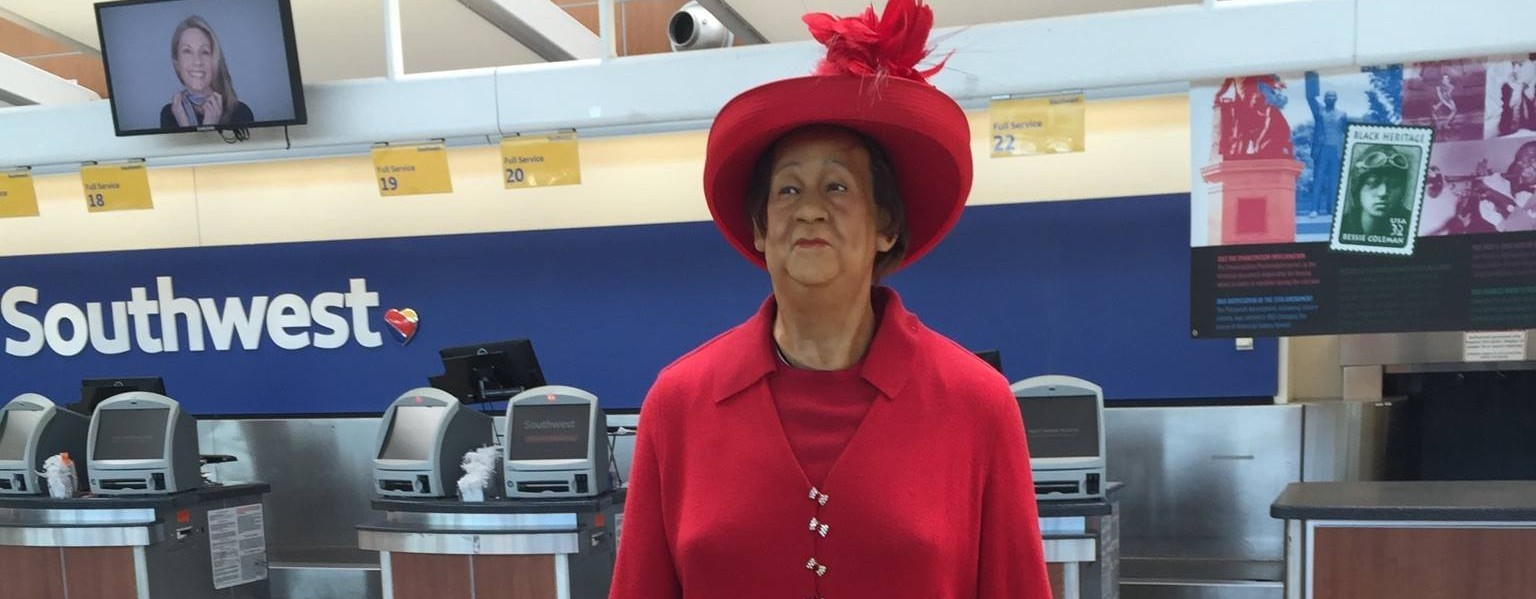Southwest Airlines honors Dorothy Height during Black History Month 2015