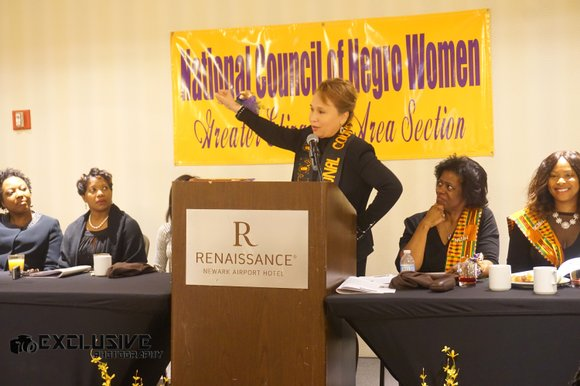 10th annual Harambee Breakfast held by NCNW's Greater Elizabeth Area Section