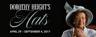 Dorothy Height's Hat on Display