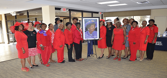 Dorothy Height Stamp Dedication in West Palm Beach, FL