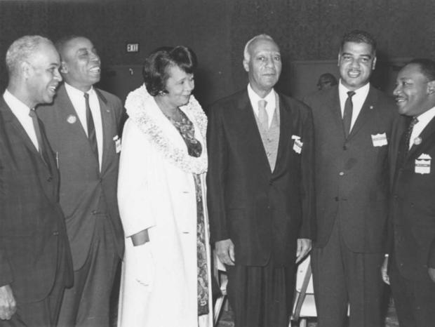 CBS News on Dr. Height's role in the 1963 March on Washington.