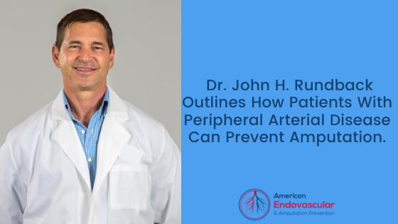 Dr. John H. Rundback outlines how patients with diabetes can prevent Peripheral Arterial Disease, ulceration, and amputation.
