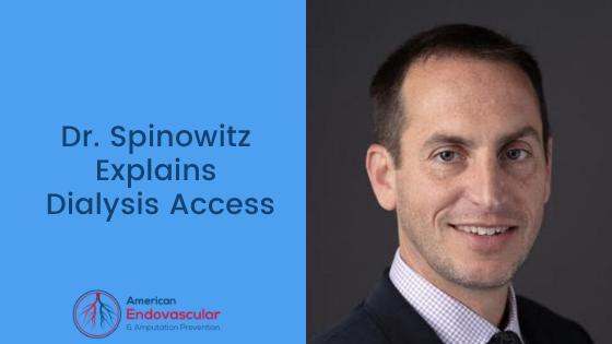 Dr. Spinowitz Explains Dialysis Access