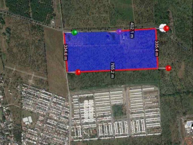 Predio en venta para ser desarrollado de 25 hectáreas por partes en Tecomán, Colima