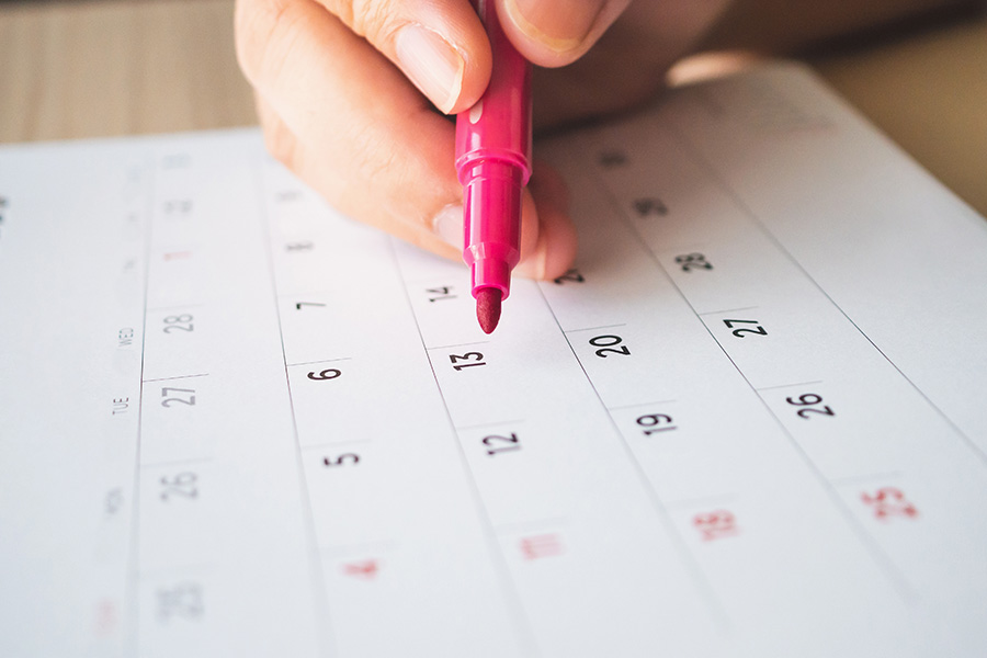 March 2019 Reliable Revenue Calendar