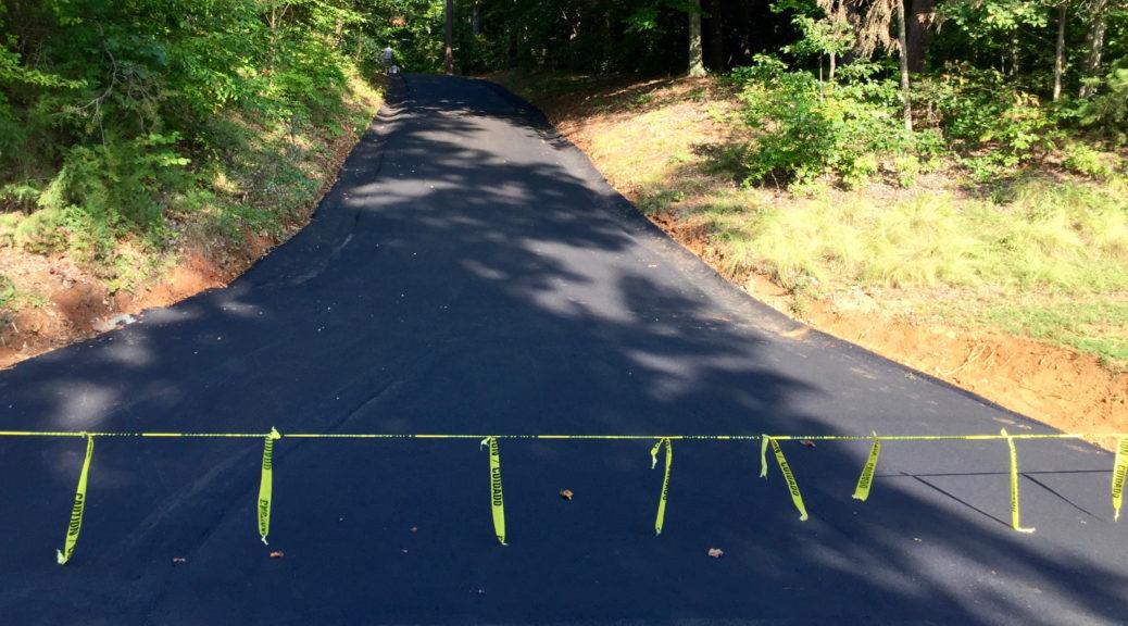 Driveway Finished
