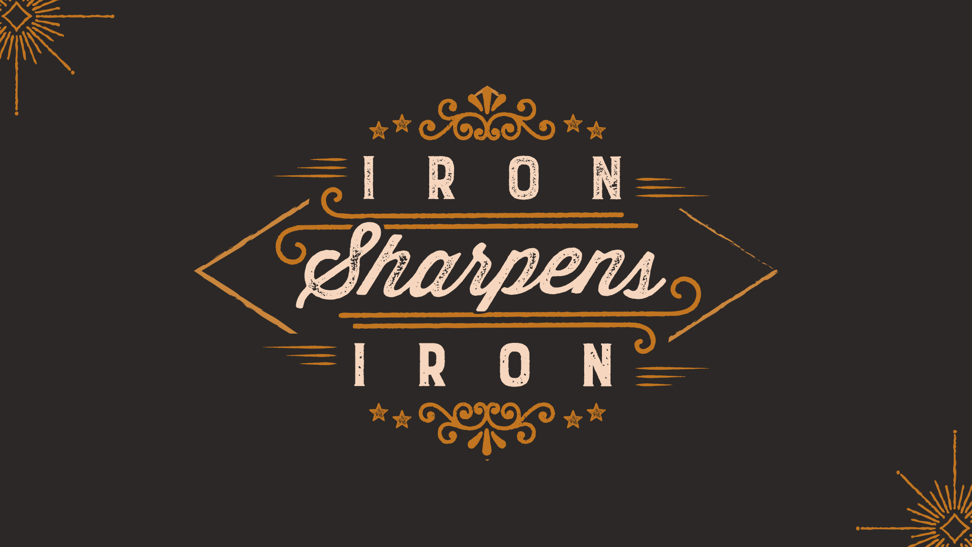 Iron Sharpens Iron Title Image
