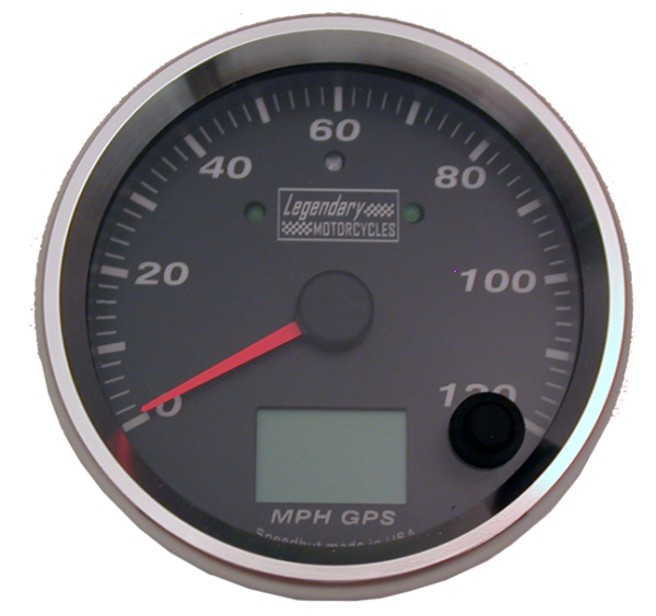 Gauge Speedometer KPH or MPH GPS