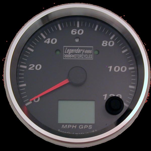 Gauge Speedometer KPH or MPH GPS