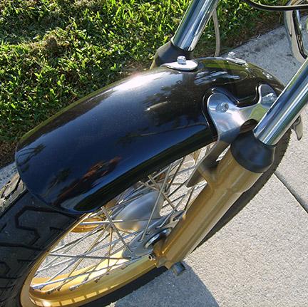 Fender Manx FRP with aluminum brackets