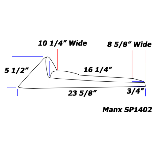 Cafe Racer Seat MANX Line