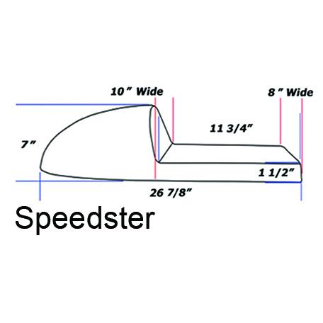Cafe Racer SPEEDSTER Seat FRP