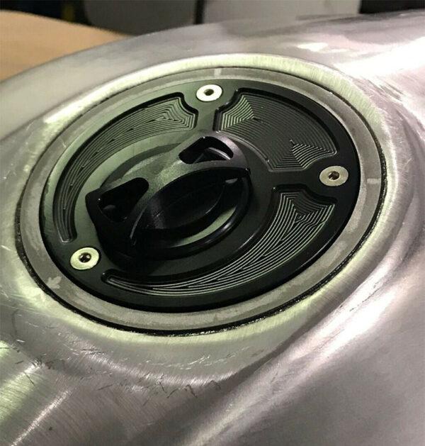 Ducati cap installed