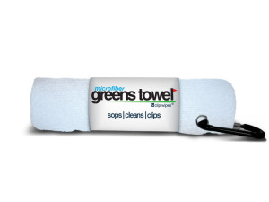 Microfiber Golf Towel White