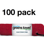 Red Microfiber Golf Towels