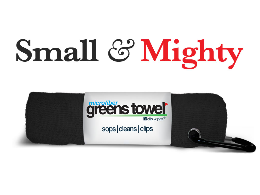 Size and Performance Matters in a Golf Towel!