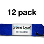 Royal Blue Greens Towel 12 Pack