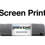 Imprinted Sterling Silver Greens Towels