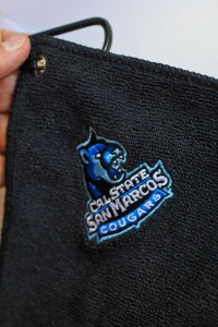 Embroidered School Team Golf Towels