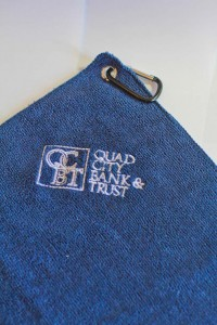 Custom Logo Golf Towel