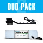 Greens Towel Duo Pack in Pure White