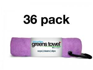 Awareness Pink 36 Pack of Greens Towels