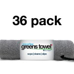 Silver 36 Pack of Greens Towels
