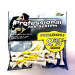 PTS 2.75 Yellow on White 20 Count
