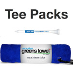 Golf Tournament Tees and Towel