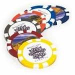 Custom Golf Poker Chip Ball Markers