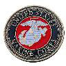 US Marines Golf Ball Marker