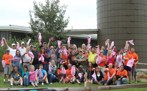 Pink Golf Tournament Gift Towels