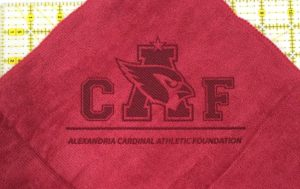 Custom Laser Etch Logo Microfiber Golf Towels