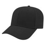 Modified Flat Bill Black Cap